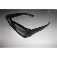CE,ROHS ABS Plastic Circular 3D effect Polarized glasses for HP computer -PL0011