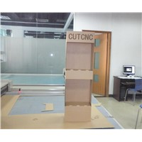 CUTCNC paper cardboard display stand digital flat bed cutter