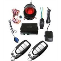 Car alarm system with voice function