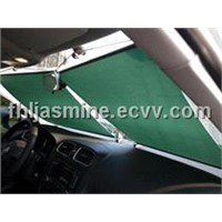 Car sunshade roller blinds