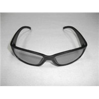 Circular Polarized RealD cinema 3D/4D/5D glasses in PC plastic frame -PH0039