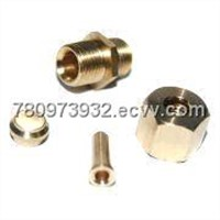 Copper Connector with Precision Lathing Parts and Cleaning Finish