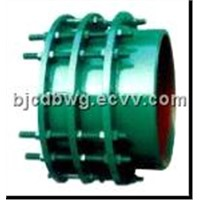 Double flange transmission joint