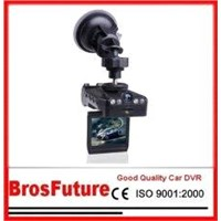 Dual Camera Two Scene Night vision Vehicle Car DVR Video Recorder B408T