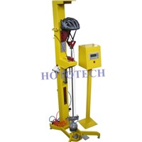 Dynamic Helmet Strap Retention testing Machine