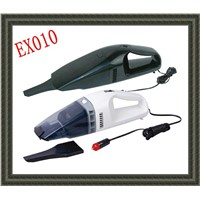EX010 12v car vacuum cleaner