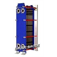 Energy Efficient Gasket Plate Heat Exchanger 300 - 800 kW for Steam Heating