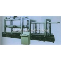 Fixed step cutting machine