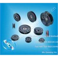Flanged wire guide pulley(wire roller) nylon pulley