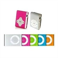 Flash USB Mini Clip Mp3 Player with Support MP3 / WMA BT-P015