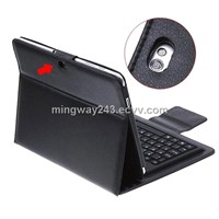 For Samsung Galaxy Tab P7510/P7500 bluetooth keyboard Leather case MW-S10