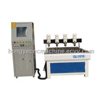 Four Heads Antique  Furniture CNC Router With CE
