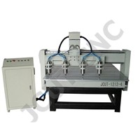 Four Heads CNC Router (JCUT-1212-4)