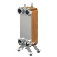 Frame Flat Plate Heat Exchanger High Heat Transfer Efficiency AISI 316 SS Plates