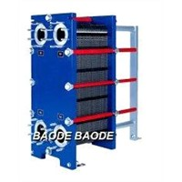 Frame and Plate Heat Exchanger 300kw - 800 kW for CIP Heating, Wine Tempering