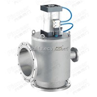 GDQ Series Pneumatic High Vacuum Baffle Valve