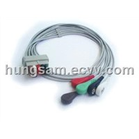 GE 5L ECG trunk cables and leads for patient monitor