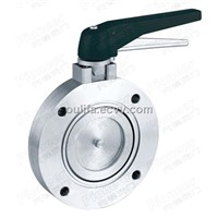 GI Series High Vacuum Butterfly Valve