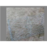 Galvanized and galfan coating reinforced gabion box and mattress