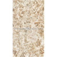 Glazed ceramic tile