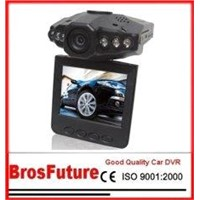 HD720P H.264 6pcs IR Vehicle Video Recorder Portable Car DVR B703E