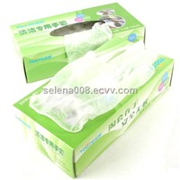 Protective with Vinyl Disposable  Gloves ,Powdered