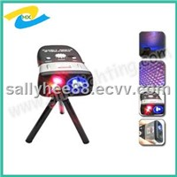 Handhold and Rechargeable laser stage light for Party /disco/KTV