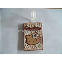 Hello Kitty PVC Luggage Tag