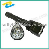 High Power Brightness 3000Lumens LED Flashlight