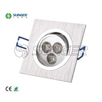 High brightness 3w led down light