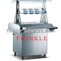 High-quality 3 Pan Buffet Bain Marie Food Warmer (hot) HMT-900HB
