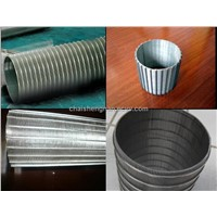 Hnegyuan Reverse rolled V-wire screen and wedge wire cylinder filter mesh