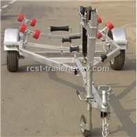 Hot dipped galvanized steel boat trailer with rollers LH3300