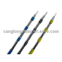 Hot sale Gas Injected PE Broadband RG6 Quad Coaxial Cable