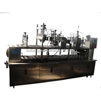 Ice Cream Filling Machine with 3 Lines