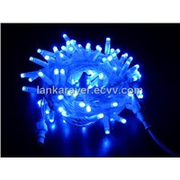 LED 10M/100L Blue Glue string light