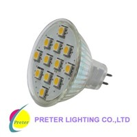 LED Bulb with High Power SMD LEDs (PL-E27W12S)