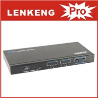 LKV342 3D 4x2 HDMI Matrix Switch with Remote Control