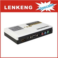LKV351 VGA / Component Video + 3.5mm Audio to HDMI Scaler