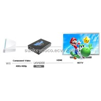 LKV6000 Wii to HDMI Converter with Scaler 1080P