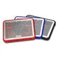 Laptop Cooling Pad/Notebook Cooler Stand with 120mm Ultra Silent Fan, Comes in Red/Blue/Black