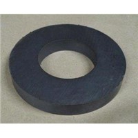 Large Strong Sintered Ferrite Ring Magnet for Electric-acoustic Devices