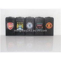 Leather case for iPhone4 with Football club design MW-P02