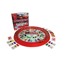 MB Monopoly Cars 2 Lightning McQueen Rack Track Game