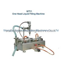 MTY1 semi-automatic one head liquid filling machine