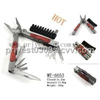 MT-6053 stainless steel Tooluxe Pocket Multi-Tool