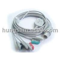 M&B 5L one-piece patient cable with leads