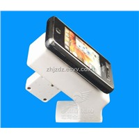 Mobile phone display stand with alarm & charger