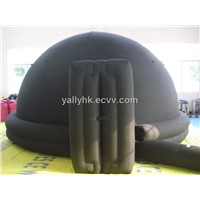 Mobile planetarium inflatable dome