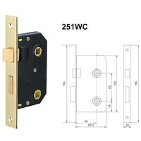 Mortise Door Handle Locks